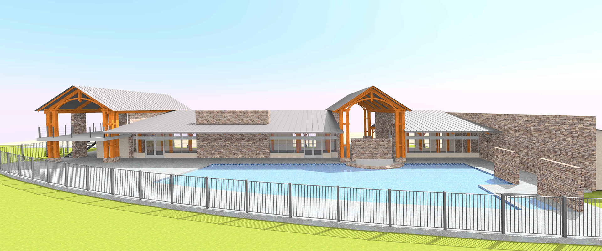 New Clubhouse at LakeShore RV Resort